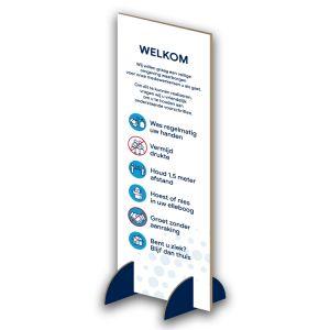 Informatiezuil: voorschriften - budget (blauw)